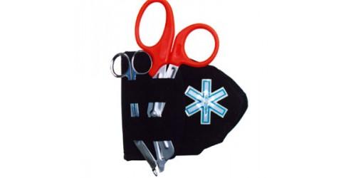 Étui pour masque de poche/ciseaux (Croix de Vie)